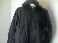 Nike Mens L 12/14 Black Jacket  Hood  Wind Breaker #Nike #Windbreaker