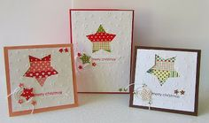 CAS Kerstkaart, Christmascards, washi tape