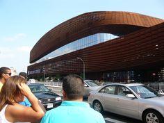 Barclays Center: Rusted Corten Steel Facade in Brooklyn | Brownstoner