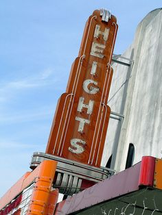 Old Houston Heights Theatre --- Located in my favorite neighborhood. The best for shopping.