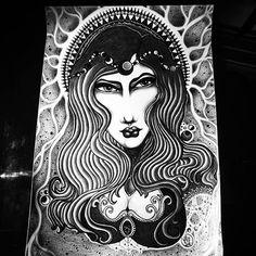 🌘 B L A C K M ⚫⚫ N 🌒 #valesom  #line #work  #apprentice #art  #artwork #dublinart  #linework #lineart  #tat  #italianart  #picoftheday  #instagood  #black #blackmoon  #illustration #neotraditional #drawing #moon #queen #mystyle #myart #apprentice #tattooapprentice  #blackandwhite #artist #artoftheday #tattoosketch #tattoo #instaart