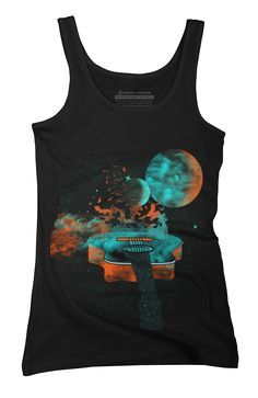 Music is my Universe Womens Tank Top