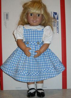 Dorothy Dress Wizard of Oz for American Girl Doll