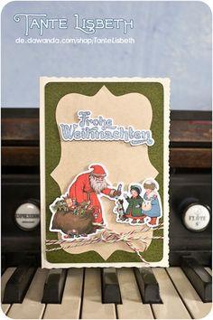 Zwei kleine Mädchen und ihr Hund stehen brav vor dem Weihnachtsmann und bekommen Geschenke - alles noch ganz analog und ohne Unterhaltungselektronik! Brave, Etsy, Cover, Books, Instagram, Consumer Electronics, Christmas, Little Girls, Santa Clause