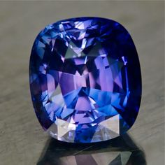 04219 - 2.23ct - Sapphire - Madagascar 7.30 x 6.49 x 5.45 mm clean, nice cut, blue violet to pink shifter heat only, no beryllium, AIGS certificate, $1185 shipped