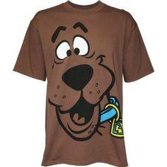 Scooby Doo Big Face Mens T-Shirt-xxl