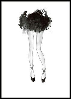 Fashion prints och posters till inredning | Tavlor och affischer