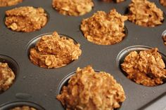Healthy Life: Baked Banana Protein Donuts or Mini Muffins
