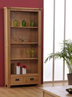 Inspiring pictures of Varka 3 Shelf 2 Drawer Bookcase In White Oak. Design and decorate your Inspiring Home with love #Lovile.com. Update on Friday, December 26th, 2014.