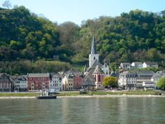 St. Goar from the ferry