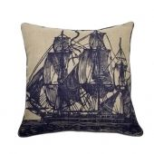 A&G; Sailboat Pillow
