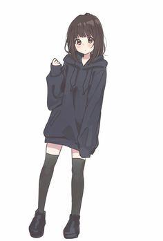 22 Ideas Art Girl Outfit Kawaii For 2019 Dibujos Anime Chibi, Cute Anime Chibi, Me Anime, Chica Anime Manga, Anime Neko, Manga Girl, Cute Anime Pics, Anime Art, Neko Cat