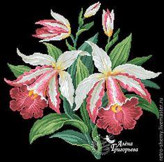 Cross Stitch Bird, Cross Stitch Flowers, Cross Stitch Patterns, Bunch Of Flowers, Amazing Flowers, Needlepoint, Hand Embroidery, Bouquet, Tapestry