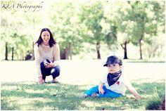 1st birthday portraits ~ mum & baby ~ outdoor photoshoot