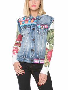 884909bde076 61E29N1_5160 Desigual Jacket Ethnic Carry Buy Online Blazer Fashion, Denim  Fashion, Bohemian Fashion,