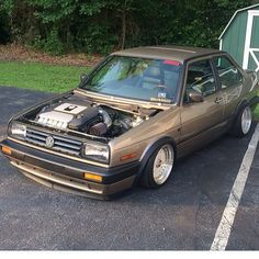 MK2 #jetta_golf_lovers --------------------------------------- #vw #camber ... Vw Mk1, Volkswagen Jetta, Vw Cars, Drag Cars, Vw Cabriolet, Vw Classic, Good Looking Cars, Motor Car, Golf Mk2