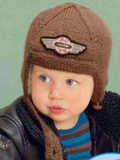 Шапка-шлем для мальчика Размер: 40-44 см