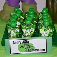 Trae's Smashing Hulk Party | CatchMyParty.com More