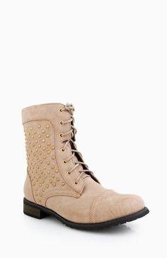 studded combat #boots #dailylook #studs