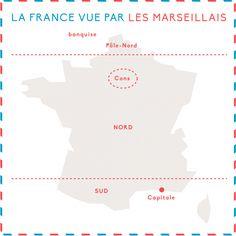 Des préjugés ? Les Français ? Vous n'y pensez pas … Ou sinon ce ne sont que de curieuses notions de géographie !C'est ce que nous révèlent les cartes de la France vue par les...