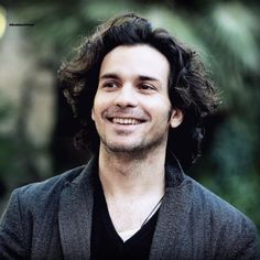 Smiling gorgeous Santi