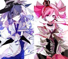 Fushigiboshi no☆Futagohime, Fine, Rein, Evil, Dark Persona