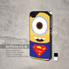 Superman Minion iphone 4 case