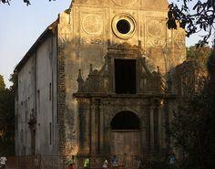 Historic Church in Vasai Fort