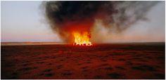 artwork Burning Ayer by Rosemary Laing