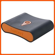 Trakdot Luggage Tracker, Black/Orange, One Size - Best gadgets (*Amazon Partner-Link)