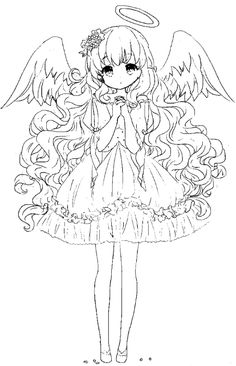 Anime Cat Girl Coloring Pages 417 Cat Coloring Pages