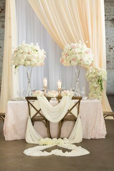 Sophisticated and Elegant Wedding Ideas Florals, Draping, Decor by FH Weddings & Events