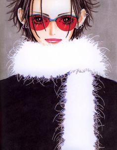 Nana by Yazawa Ai Fashion Design Portfolio, Art Portfolio, Anime Manga, Anime Art, Yazawa Ai, Nana Manga, Nana Komatsu, Nana Osaki, Divas
