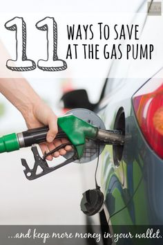 Thinking of taking a road trip this year? Or just tired of spending $4.00 per gallon? Here are 11 easy ways to save at the gas pump and keep more money in your wallet.