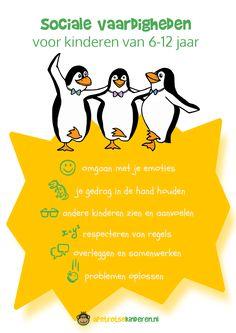 Infographic Sociale vaardigheden