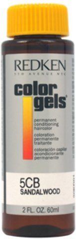 Redken - Color Gels Permanent Conditioning Haircolor 5CB - Sandalwood (2 oz.) 1 pcs sku- 1898279MA ** See this great product.