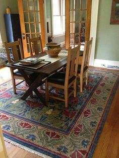A custom carpet or runner, specifically created to enhance your environment and express your personal taste, provides not only a one-of-a-kind work of art, but