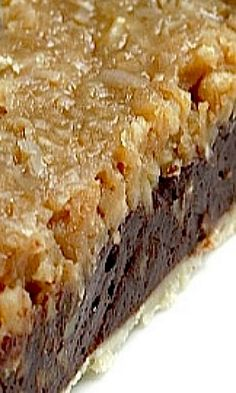 Chocolate Coconut Pecan Pie