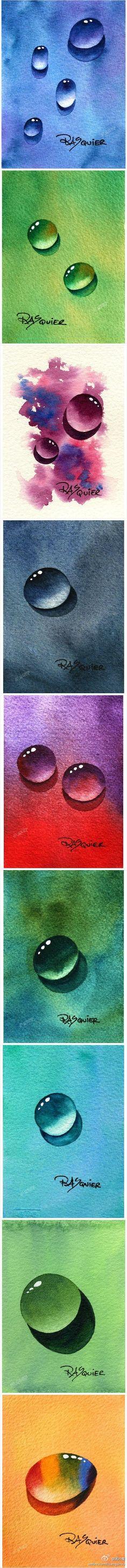 Paper droplets Author:. Rasquier