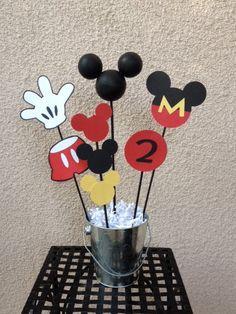 Mickey Mouse Birthday Decorations  Lot  by TheGirlNXTdoor on Etsy, $64.50