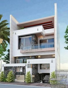 Everyone has ideas about their dream house. For planning on your cool house, you may also want to check out cool house 3 Storey House Design, Bungalow House Design, House Front Design, Small House Design, Cool House Designs, Modern House Design, Layouts Casa, House Layouts, House Layout Plans