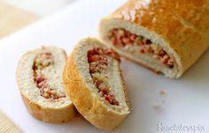 LANCHES - Pão Pizza ~ PANELATERAPIA - Blog de Culinária, Gastronomia e Receitas