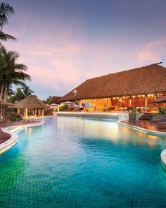 Adults only pool at Outrigger Fiji Beach Resort
