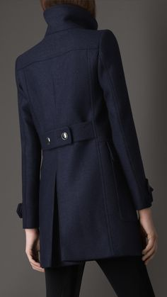 Tailored Wool Coat | Burberry