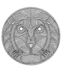 Free coloring page «coloring-free-mandala-difficult-adult-to-print-lion».