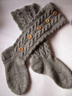 Cable knit button-up socks Tanssivat kädet - Dancing hands Knitting Socks, Fingerless Gloves, Cable Knit, Arm Warmers, Hands, Dancing, Button, Blog, Fashion