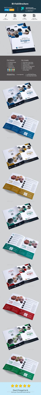 Bi-Fold Brochure Template PSD, Vector EPS, AI Illustrator