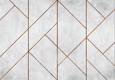 Geometric Concrete by Coordonne - Copper - Mural : Wallpaper Direct - Coordonne Geometric Concrete Copper Mural main image -