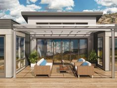 Blu Homes model home in Southern California announced at Dwell on Design