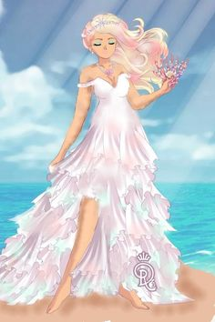 July Bride by Chic_Geek ~ Sailor Moon Dress Up